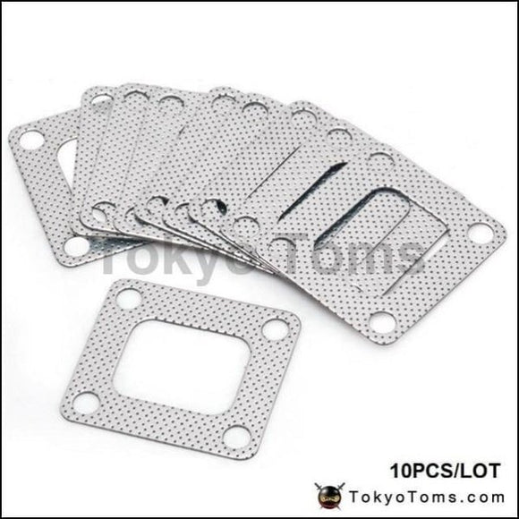 10Pcs/lot 3 Layer Composite Turbo Gasket T4 Exhaust Turbine Inlet Manifold Parts