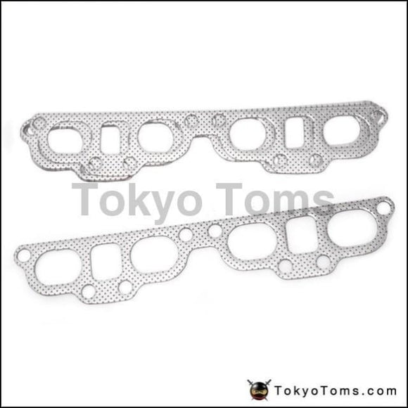 10Pcs/lot For Nissan 240Sx Sentra 200Sx Sr20De Aluminum Graphite Exhaust Manifold Header Gasket