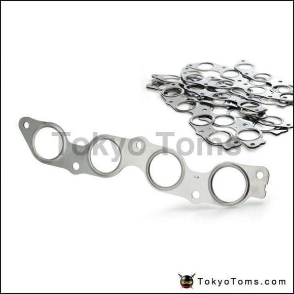 10Pcs/lot For Toyota 1.5L 1Nz-Fe 1Nz-Fxe 2000-2004 Exhaust Manifold Gasket Stainless Steel Turbo