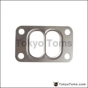 10Pcs/lot T3 T34 T35 T38 Twin Entry Divided Turbo Manifold Turbine Inlet Gasket 304 Stainless Steel