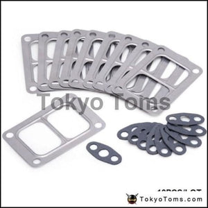 10Pcs/lot T6 Turbo Gasket Kit For Holset Hx50 Turbine Inlet Oil Outlet 3533557 558 Parts