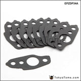 10Pcs/lot Turbo Oil Feed / Return Gasket For Toyota Ct26 Land Cruiser Epzdp34A Parts