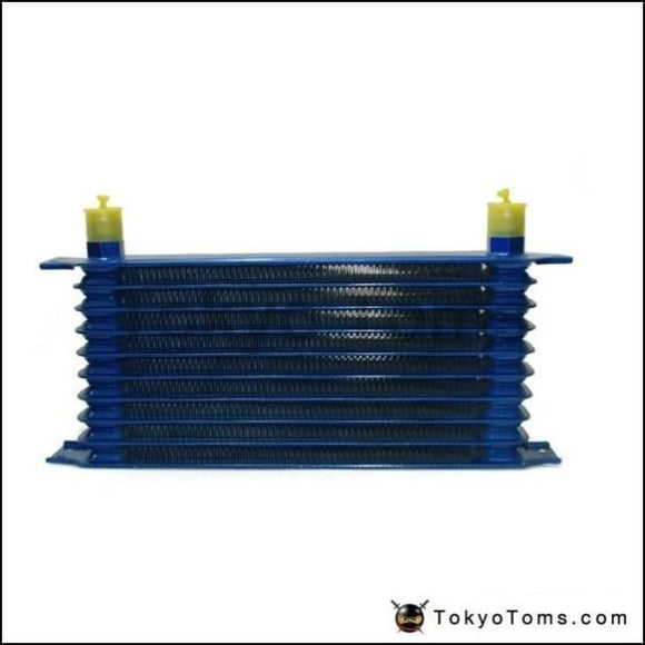10Rows 50Mm Thick Aluminium Universal Trust Type Oil Cooler