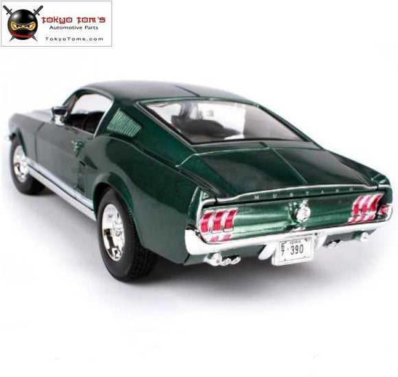 1:18 1967 Ford Mustang Gta Fastback Muscle Alloy Car Model Diecast Model Toy