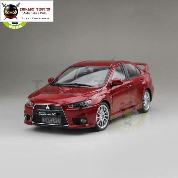 1/18 Mitsubishi Lancer Evo-X Evo X 10 Left Steering Wheel Diecast Metal Car Model Toy Boy Girl Gift