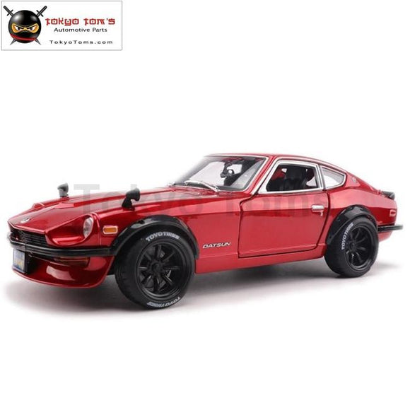 1:18 Simulation Alloy Sports Car Model For Nissan Datsun 240Z With Steering Wheel Control Front