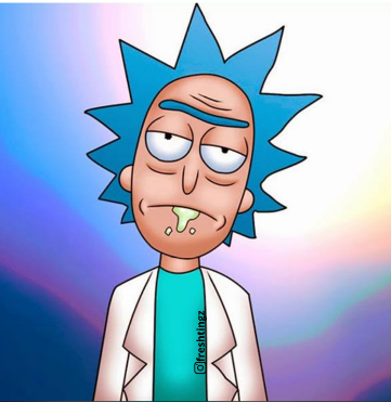 RICK SANCHEZ (GREEN APPLE SCENT)