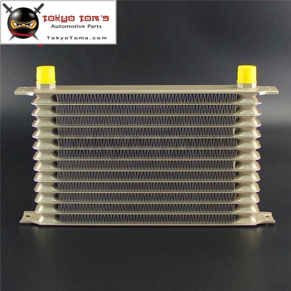 13 Row An10 Aluminum Engine Transmission Champagne Oil Cooler Fits For Subaru Jeep Toyota