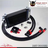 13 Row Trust Oil Cooler M20*1.5 / 3/4X16 Unf Filter Thermostat Sandwich Plate Kit