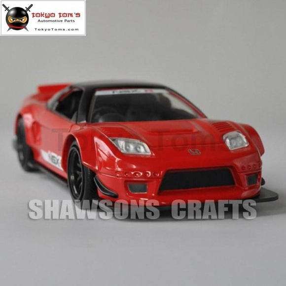 1:32 Diecast Car Model Toys Jada Honda Nsx-R 2002 Pull Back Miniature Replica