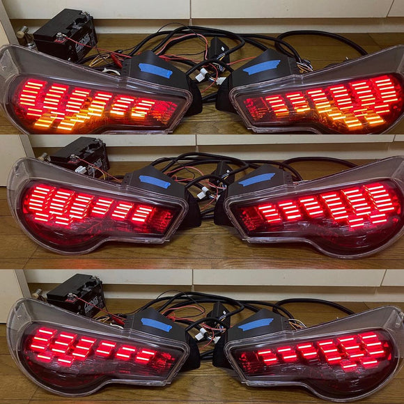 Custom GT86 FRS BRZ Dancing Tail Lights - 3D