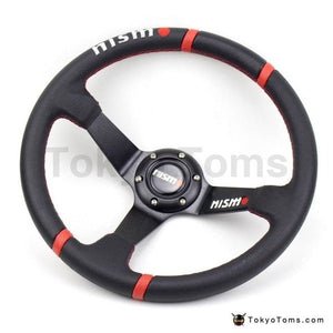"14"" (350mm) Universal Nismo style PVC Steering Wheel"