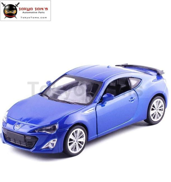 1:43 Advanced Alloy Pull Back Car Models High Simulation Subaru Brz Metal Diecasts Childrens Toy