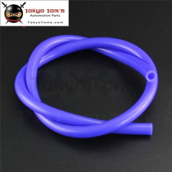 14Mm Id Silicone Vacuum Tube Hose 1Meter / 3Ft For Air Water- Blue/ Black /red