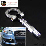 19.5Mm Aluminum Screw Tow Towing Hook Fit Audi A4 A4L 1.8T 2.0T 09-15 Silver