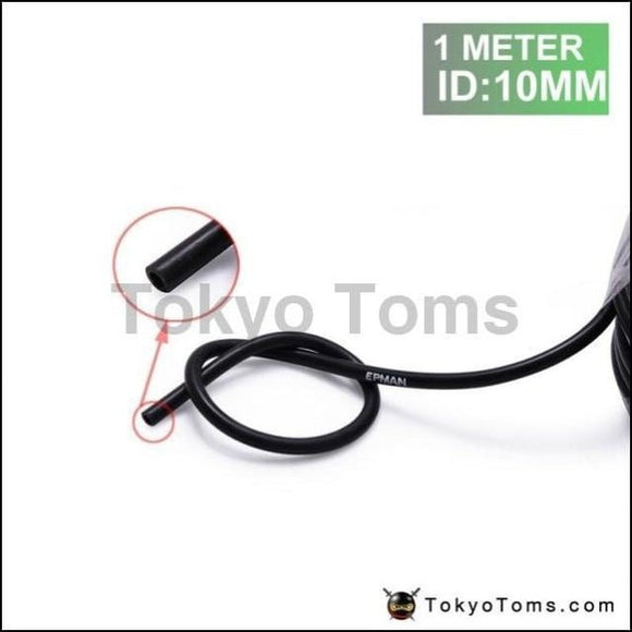 1Meter 10Mm High Performance Silicone Vacuum Hose Black For Bmw Mini Cooper S Jcw W11 R52 R53 01-06