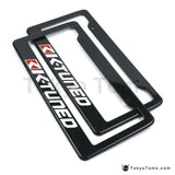 1pair K-Tuned License Plate Cover Universal