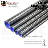 1Pcsx 0.43 / 11Mm Id 1M Straight Silicone Coolant Intercooler Piping Hose Pipe Tube Length=1000Mm /1