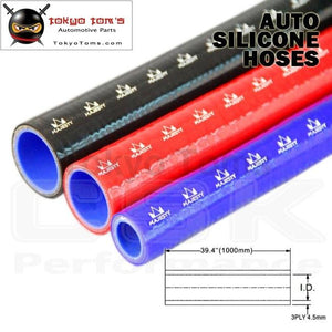 1Pcsx 0.51 / 13Mm Id 1M Straight Silicone Coolant Intercooler Piping Hose Pipe Tube Length=1000Mm /1