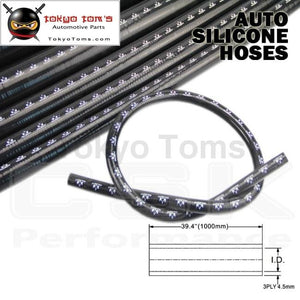1Pcsx 1 / 25Mm Id 1M Straight Silicone Coolant Intercooler Piping Hose Pipe Tube Length=1000Mm /1