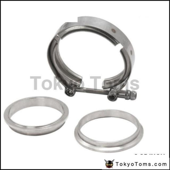 """V-BAND OUTER CLAMP STAINLESS STEEL EXHAUST TURBO HOSE RADIATOR 2.25/"""" 57mm"""
