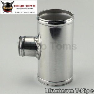 2.5 63Mm Od Aluminium Bov T-Piece Pipe Hose 3 Way Connector Joiner Spout 35Mm Aluminum Piping
