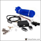 2.5 63Mm Open Style Vacuum Exhaust Cutout Valve With Wireless Remote Controller Set