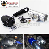 2.5 63Mm Straight Flange Pipe + Adjustable Sqv Blow Off Valve Bov Ii 2 Black / Silver