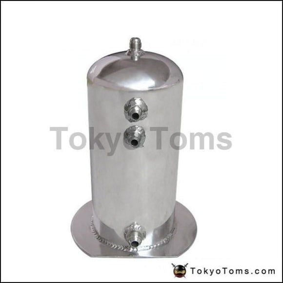 2.5 Litre Fuel Surge Catch Can Aluminium Polish Tank Systems