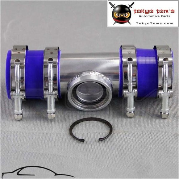 2 50Mm Ssqv Sqv Blow Off Valve Adapte Bov Turbo Intercooler Stainless Steel Pipe +Silicone +Clanps