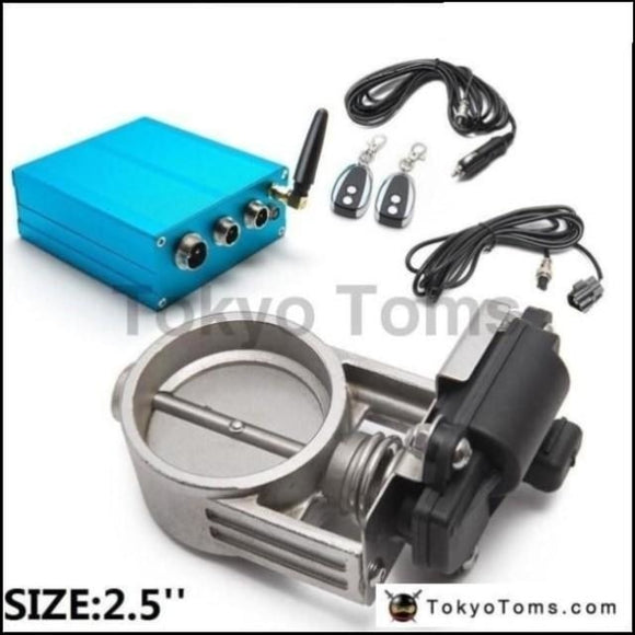 2.5/63Mm Vacuum Exhaust Cutout Electric Control Valve Kit With Pump