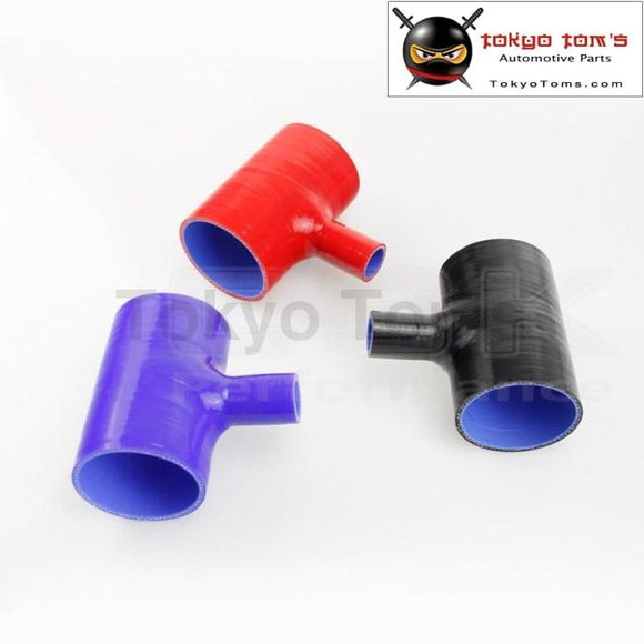 2.75 To Silicone Hose 70Mm T Shape Tube Pipe For 25Mm Id Bov 3