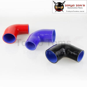 2 To 2.5 51Mm - 64Mm Silicone 90 Degree Elbow Reducer Turbo Pipe Hose