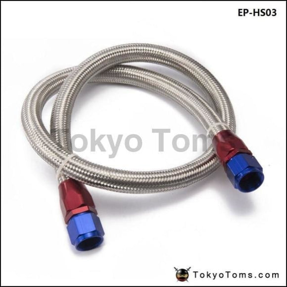 2013 An8-0 Universal Fuel / Oil Hose Kit Stainless Steel Braided 1Meter W/ Fitting Tk-Hs03 Cooler