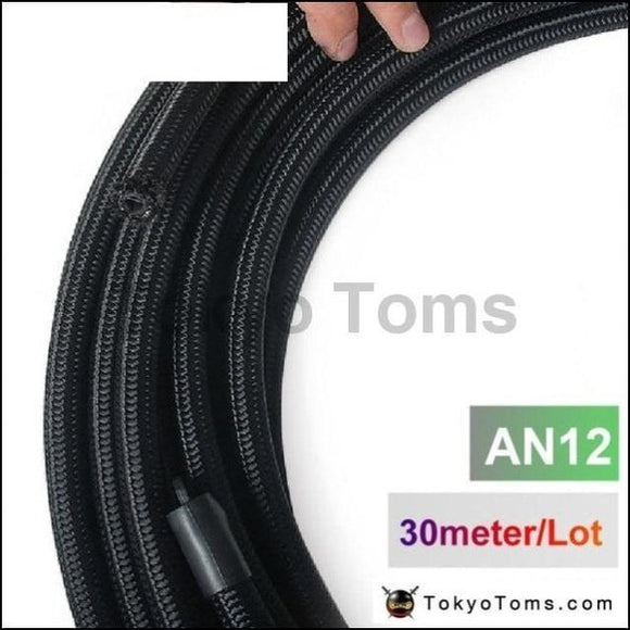 2013 Very High Quality - An12 Cotton Over Braided Fuel / Oil Hose Pipe Tubing Light Weight 30 Meters
