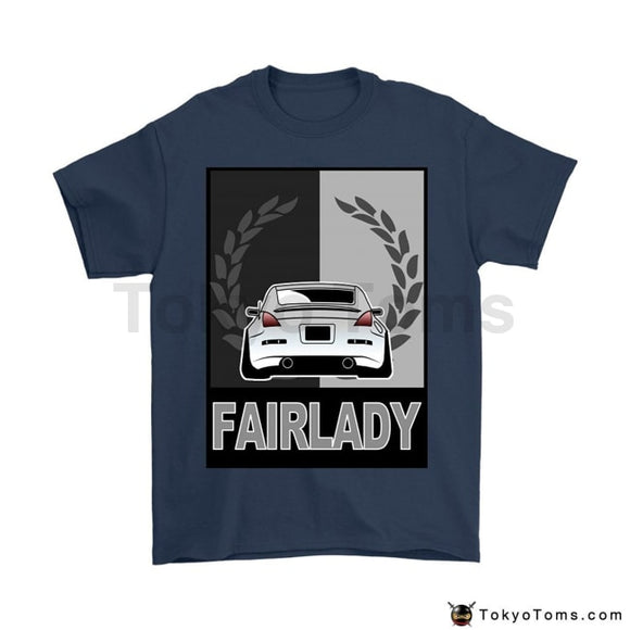 2018 Summer Brand Adults Casual Hot Japanese Car Fans Fairlady 350Z Jdm Stance Camber Hellaflush