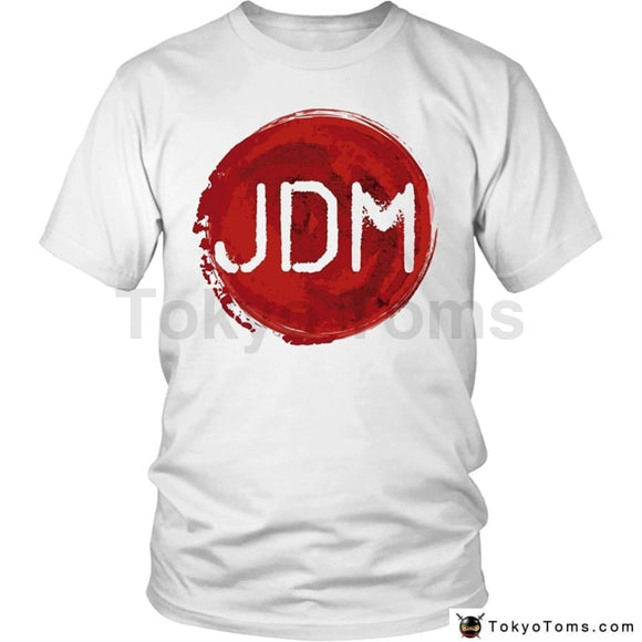2018 Summer Brand Adults Casual Hot Jdm Car Tuner Japan Flag T-Shirt Tee Shirt Clothing