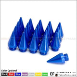 20Pcs Universal Aluminum Extened Tuner Spikes Spear Tip For Wheels Rims Lug Nuts Jdm Racing