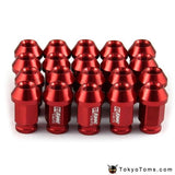 20Pcs/set 40Mm D1 Spec Aluminum Car Wheel Nuts M12X1.5/1.25 Racing Rims Lug