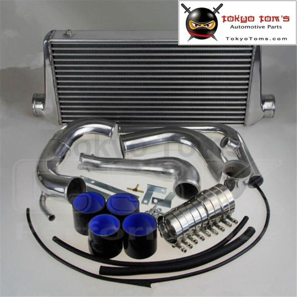 240Sx S13 Sr20Det Upgrade Bolt On Front Mount Intercooler Kit W Piping 89-94 Black Kits