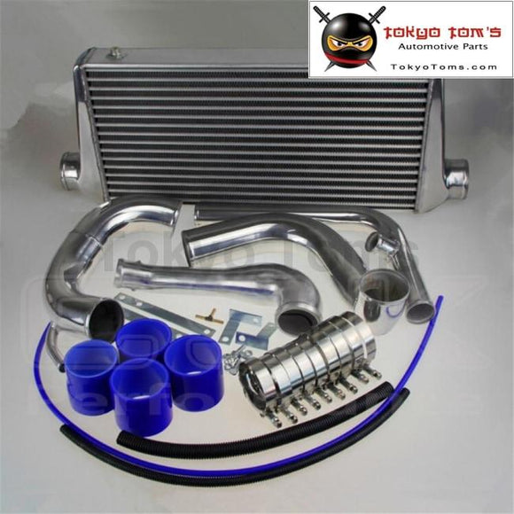240Sx S13 Sr20Det Upgrade Bolt On Front Mount Intercooler Kit W Piping 89-94 Blue Kits