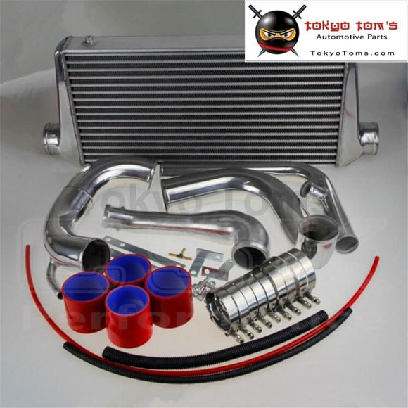 240Sx S13 Sr20Det Upgrade Bolt On Front Mount Intercooler Kit W Piping 89-94 Red Kits