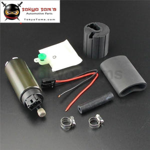 255 Lph High Performance Fuel Pump Kit For 341 342 Evo Sti Dsm S14 S15 Black Systems