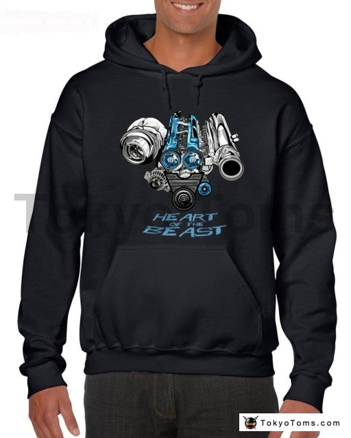 2JZ Engine Hoodies