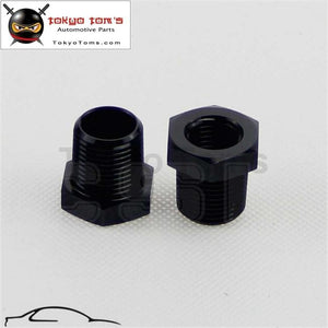 2Pcs 3/8 Male X 1/4 Female Npt Thread Reducer Hex Bushing Pipe Fitting Alloy