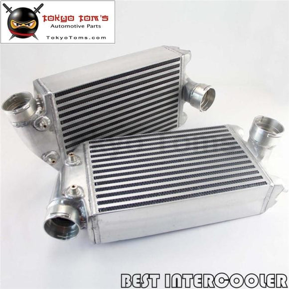 2Pcs Aluminum Twin Intercooler Kit For 01-09 Porsche 996 997 Tt Turbo / Gt2 Kits