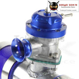 30Psi Ts Bov Turbo +2.25 57*150Mm Flange Pipe + 2 * Blue Silicone Hoses+ 4*clamps
