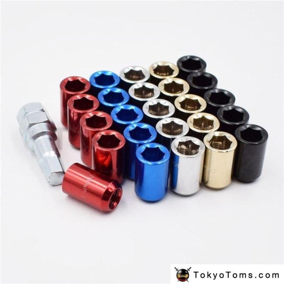 32Mm M12X1.5/1.25 Racing Car Wheel Lug Nuts Rims Accessories