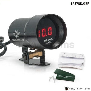 37Mm Compact Micro Digital Smoked Air/fuel Ratio Gauge Universal 3-4-6-8 Cylineder Engines (Oem: