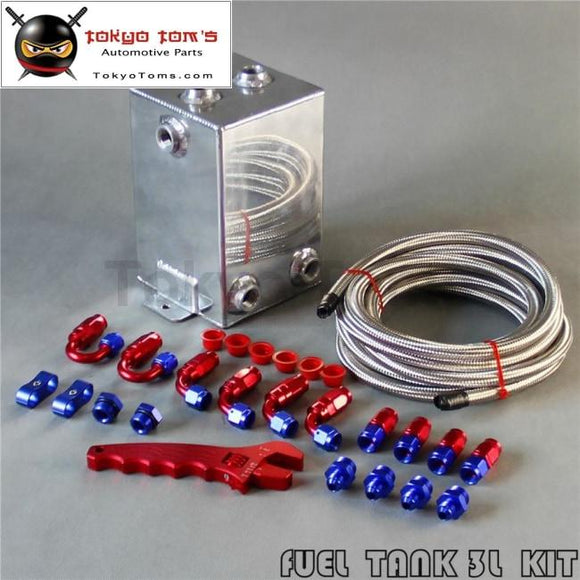 2L Fuel Surge Oil Tank w//AN6 Fitting /&Pipe Swirl Pot System kit wrench Spanner